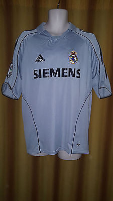 2005-06 Real Madrid 3rd Shirt Size Medium - Forever Football Shirts