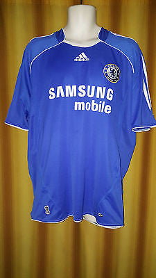 2006-08 Chelsea Home Shirt Size Extra Large - Shevchenko #7 - Forever Football Shirts