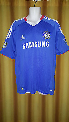 2010-11 Chelsea Home Shirt Size Large - Ivanovic #2 - Forever Football Shirts
