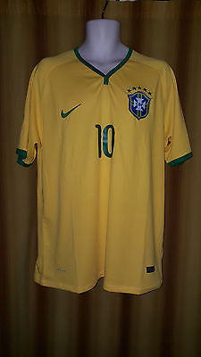 2014-15 Brazil Home Shirt Size XL - Neymar Jr #10 (BNWT) - Forever Football Shirts