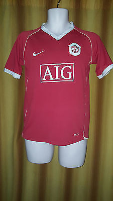 2006-07 Manchester United Home Shirt Size Small - Forever Football Shirts