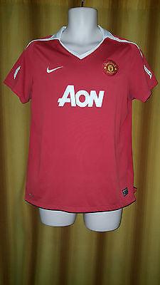 2010-11 Manchester United Home Shirt Size Medium - Forever Football Shirts