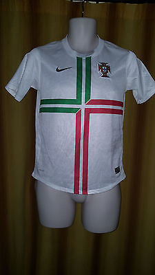2012 Portugal Away Shirt Size 12-13 Yrs - Forever Football Shirts