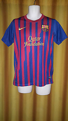 2011-12 Barcelona Home Shirt Size Small - Fabregas #4 - Forever Football Shirts