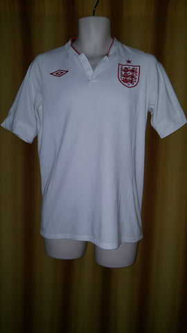 2012 England Home Shirt Size 40 - Forever Football Shirts