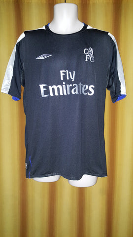 2004-05 Chelsea Away Shirt Size Large - Forever Football Shirts