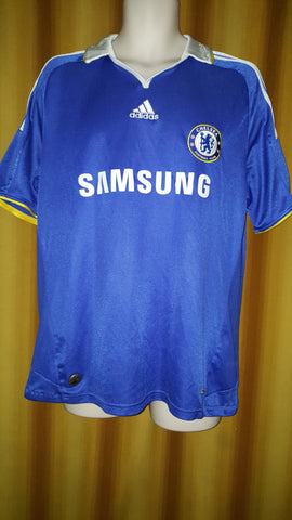 2008-09 Chelsea Home Shirt Size Large - Forever Football Shirts