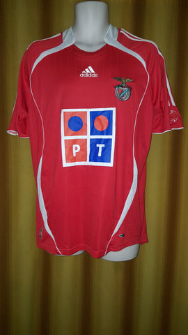 2006-07 Benfica Home Shirt Size Medium - Forever Football Shirts