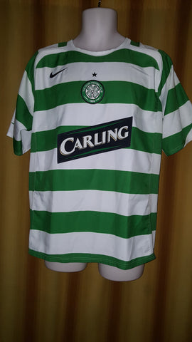 2005-07 Glasgow Celtic Home Shirt Size Medium - Forever Football Shirts