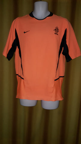 2002-03 Holland Home Shirt Size Medium - Forever Football Shirts