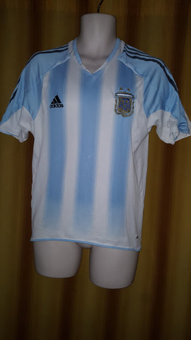 2004-05 Argentina Home Shirt Size Small - Forever Football Shirts