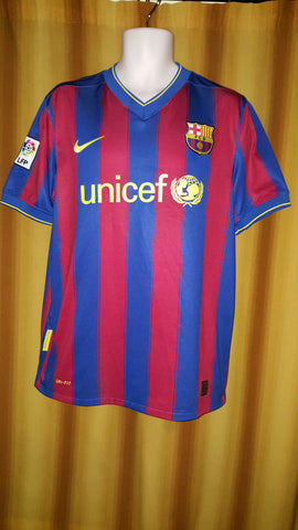 cce06946835 ... 2009-10 Barcelona Home Shirt Size Large - Forever Football Shirts ...