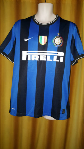 2009-10 Inter Milan Home Shirt Size Large - Sneijder #10 - Forever Football Shirts