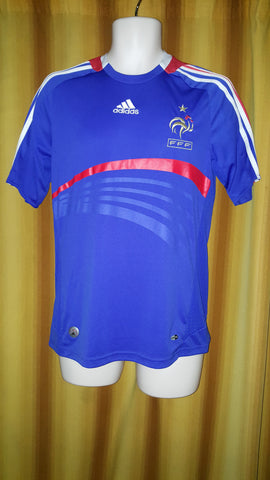2007-08 France Home Shirt Size Small - Forever Football Shirts