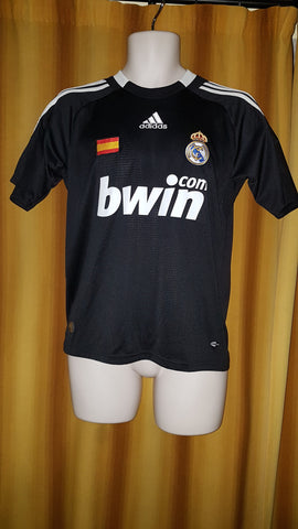2008-09 Real Madrid 3rd Shirt Size Extra Small - Forever Football Shirts