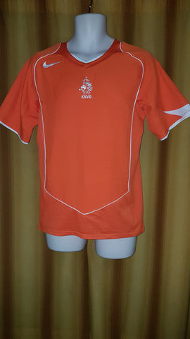 2004-05 Holland Home Shirt Size Small - Forever Football Shirts