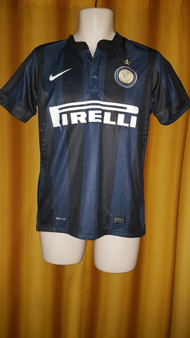 2013-14 Inter Milan Home Shirt Size Small - Forever Football Shirts