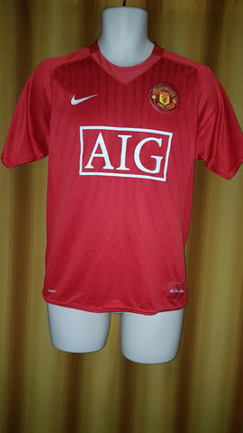 2007-09 Manchester United Home Shirt Size Small - Rooney  10 - Forever  Football b685cfc1d