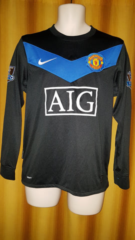2009-10 Manchester United Away Shirt Size Small (Long Sleeve) - Giggs #11 - Forever Football Shirts