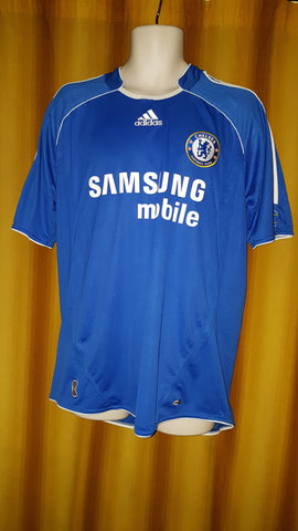 2006-08 Chelsea Home Shirt Size Large - Ballack #13 - Forever Football Shirts