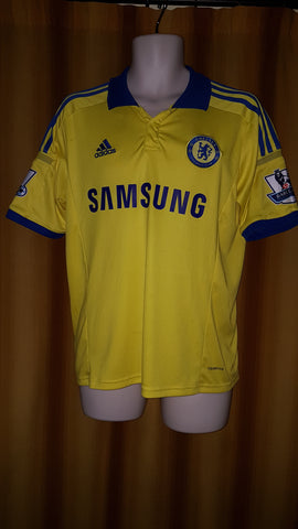 2014-15 Chelsea Away Shirt Size Medium - Diego Costa #19 - Forever Football Shirts