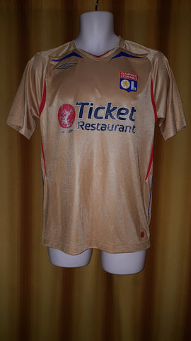 2007-08 Olympique Lyonnais Away Shirt Size Small - Forever Football Shirts