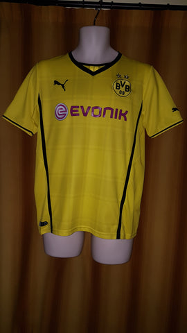 2013-14 Borussia Dortmund Domestic Home Shirt Size 34-36 - Forever Football Shirts