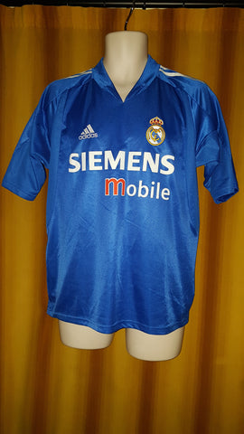 2004-05 Real Madrid 3rd Shirt Size 34-36 - Forever Football Shirts