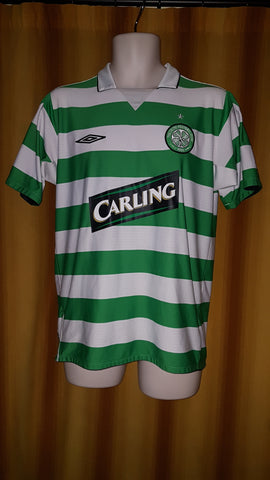 2004-05 Celtic Home Shirt Size Medium - Sutton #9 - Forever Football Shirts