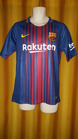 2017-18 Barcelona Home Shirt Size Medium (BNWT)