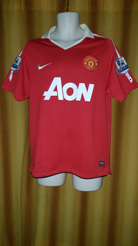 2010-11 Manchester United Home Shirt Size Medium – Chicharito #14