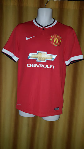 2014-15 Manchester United Home Shirt Size Small - Di Maria #7