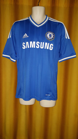2013-14 Chelsea Home Shirt Size Medium - Mata #10