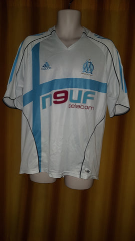 2005-06 Olympique de Marseille Home Shirt Size Large
