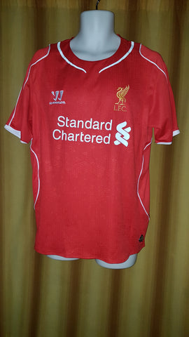 2014-15 Liverpool Home Shirt Size Medium - Sterling #31