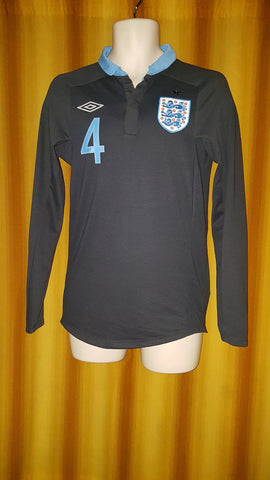 2011-12 England Away Shirt Size 36 (Long Sleeve) - Wilshere #4