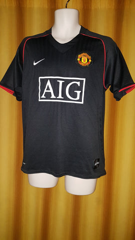 2007-08 Manchester United Away Shirt Size Medium