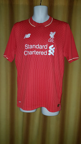 2015-16 Liverpool Home Shirt Size Medium - Coutinho #10