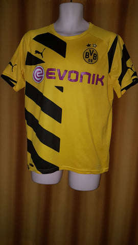 2014-15 Borussia Dortmund Domestic Home Shirt Size Small