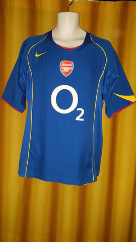 2004-05 Arsenal Home Shirt Size Large - Reyes #9