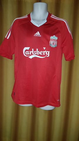 00606fa9d 2008-10 Liverpool Home Shirt Size Medium - Torres  9 – Forever ...