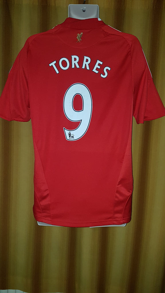 27057bf58 2008-10 Liverpool Home Shirt Size Medium - Torres  9 – Forever Football  Shirts