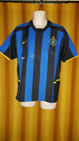 2002-03 Inter Milan Home Shirt Size Small