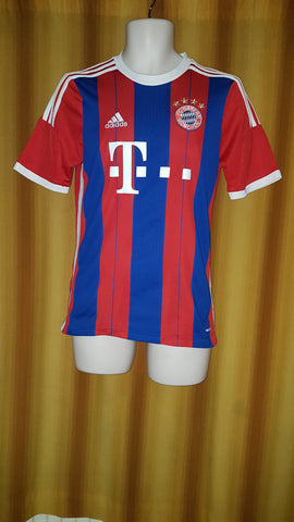 2014-15 Bayern Munich Home Shirt Size 15-16 Yrs - Lewandowski #9