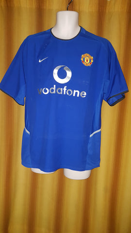 2002-03 Manchester United 3rd Shirt Size Medium