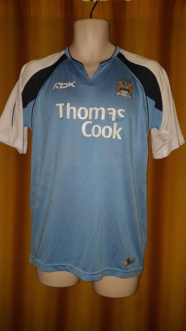 2006-07 Manchester City Home Shirt Size Medium - Hamman #21