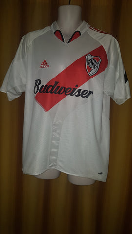 2003-05 River Plate Home Shirt Size Medium