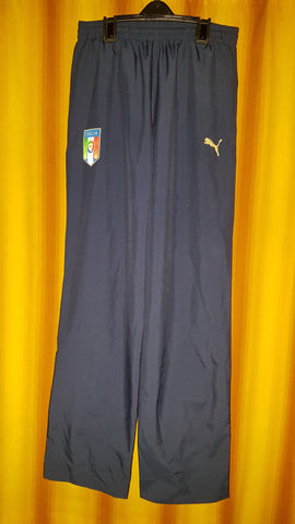 2008-09 Italy Track Pants Size Small