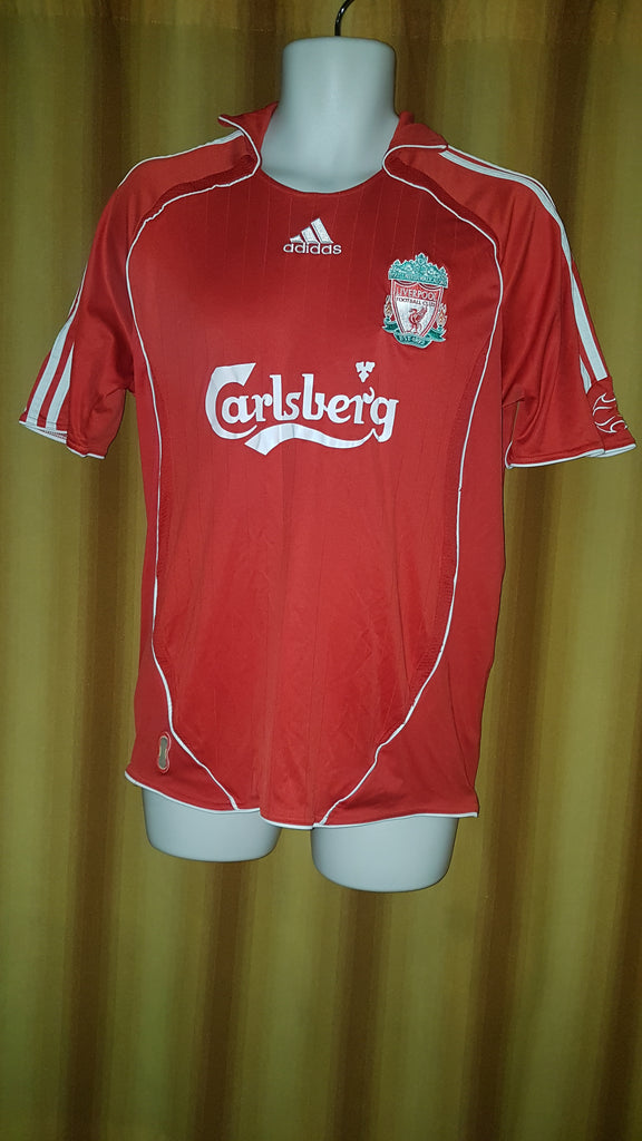 a79c654d2 2006-08 Liverpool Home Shirt Size Medium - Gerrard  8 – Forever Football  Shirts