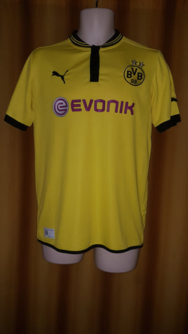 2012-13 Borussia Dortmund Domestic Home Shirt Size 34-36